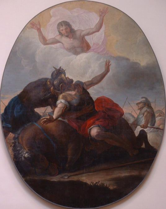Conversion de saint Paul, Ambroise Crozat, 1728