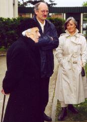 L'Abbé, M. et Mme Laigneau au congrès régional à Toulouse le 7 avril 2002