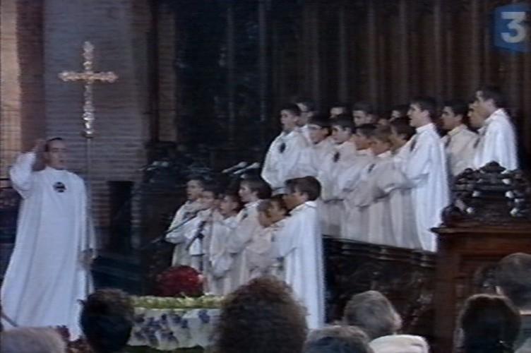 France3, obsèques de Claude Nougaro, 10 mars 2004