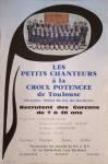 affiche de recrutement 1985